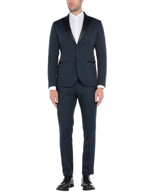 Takeshy Kurosawa Blue Suit for men