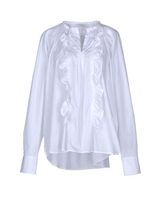 Blusa di Vivetta in White