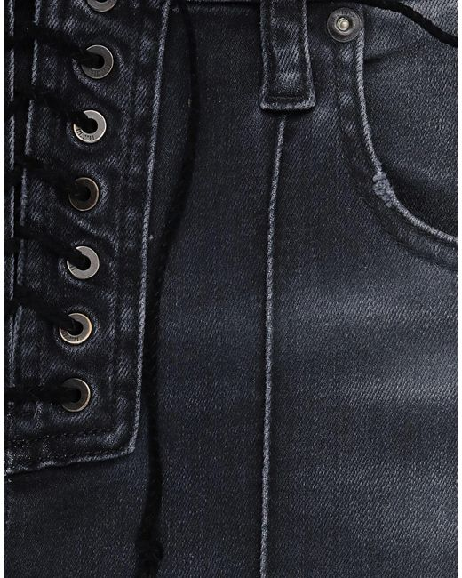 Pantalones vaqueros Unravel Project de color Black