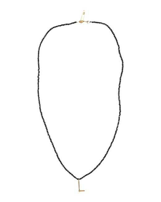 Collier First People First en coloris Black