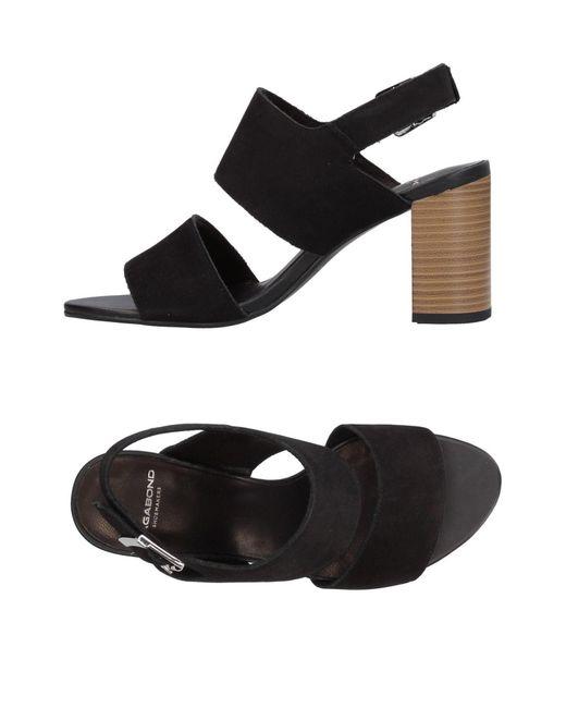 ee98993507 Lyst - Vagabond Sandals in Black - Save 20%