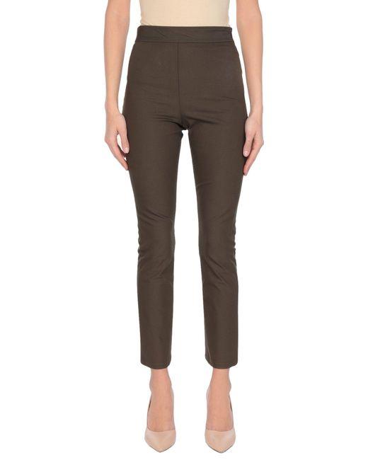 Theory Green Casual Pants