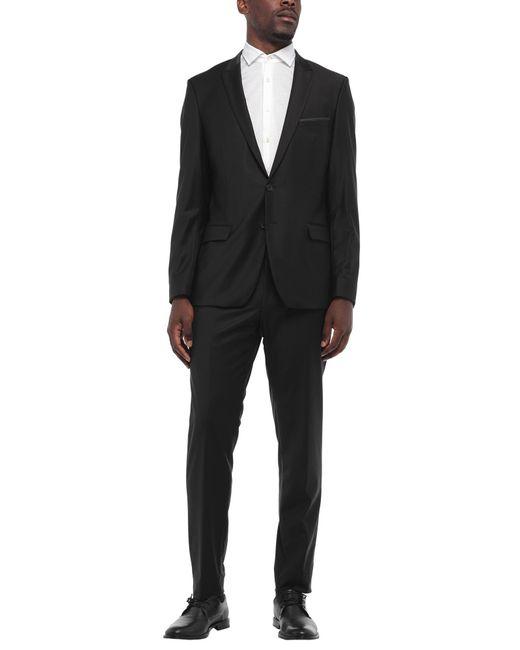 Karl Lagerfeld Black Suit for men