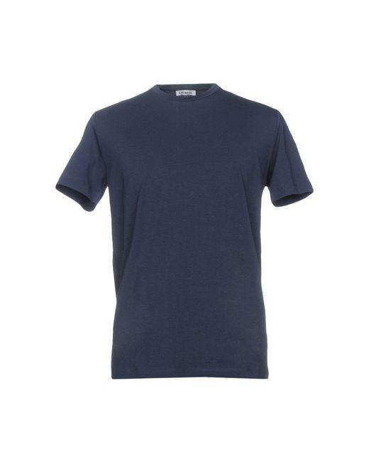 Bikkembergs Blue T-shirt for men