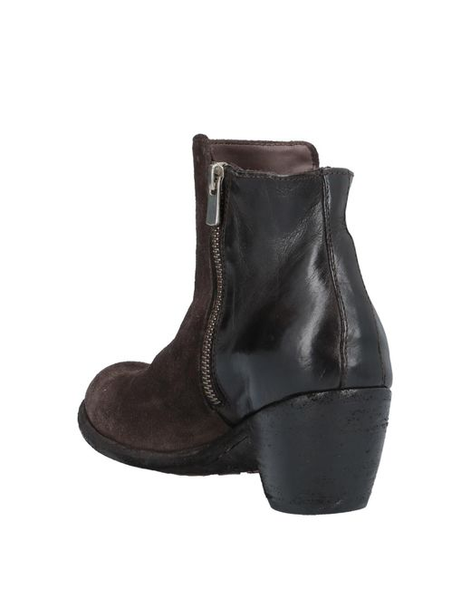 Bottines Officine Creative en coloris Brown