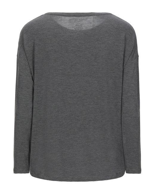 Camiseta Majestic Filatures de color Gray