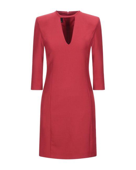 Pinko Red Kurzes Kleid