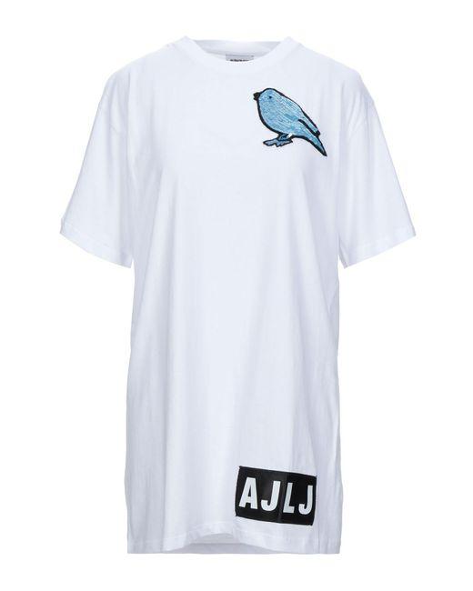 Camiseta Au Jour Le Jour de color White