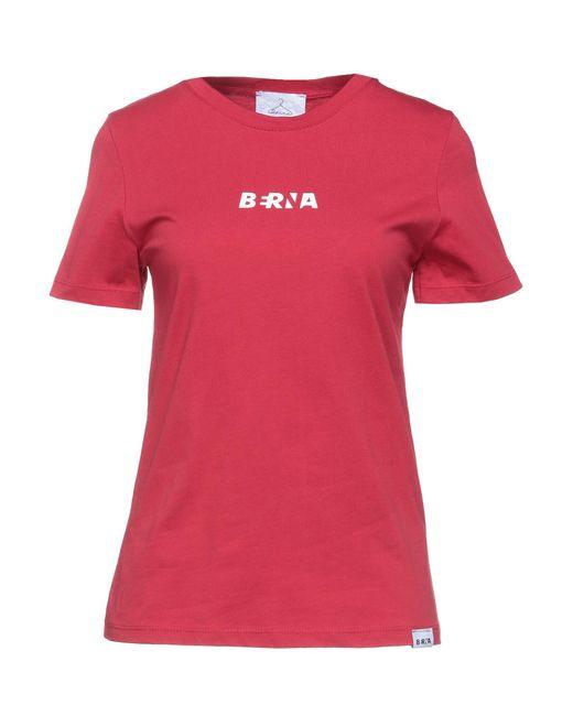 Camiseta Berna de color Red