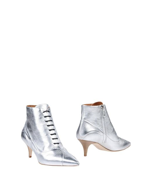 M Missoni Metallic Ankle Boots