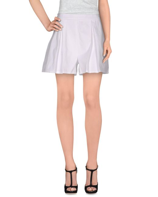 Department 5 | White Shorts | Lyst