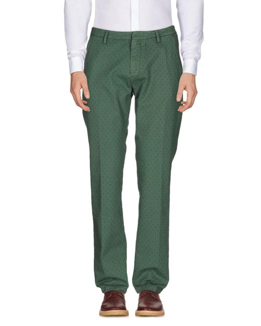 TRUE NYC - Green Casual Pants for Men - Lyst