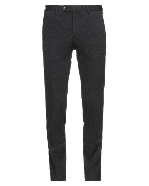 PT Torino Black Casual Trouser for men