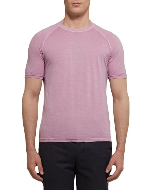 Aspesi T-shirt da uomo di colore rosa
