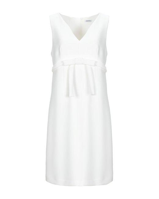 Vestito corto di P.A.R.O.S.H. in White