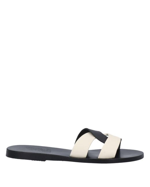 Ancient Greek Sandals Black Sandals