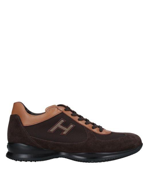 Hogan Brown Low-tops & Sneakers for men
