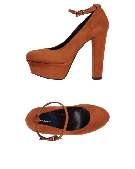 Alberto Moretti - Orange Pump - Lyst