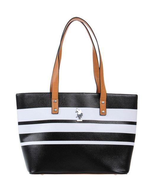 U.S. POLO ASSN. Black Handbag