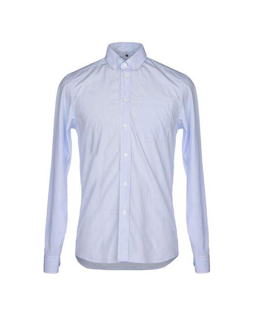 Camicia di OAMC in Blue da Uomo