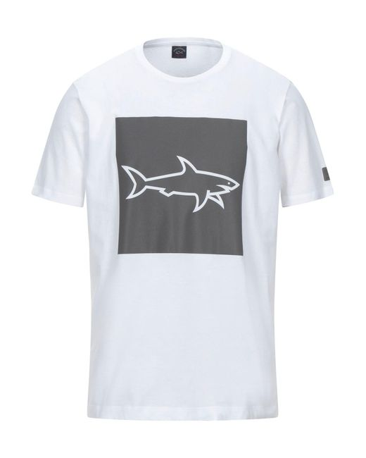 Camiseta Paul & Shark de hombre de color White