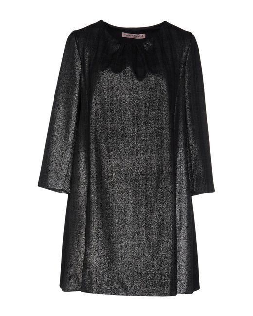 Frankie Morello | Gray Short Dress | Lyst
