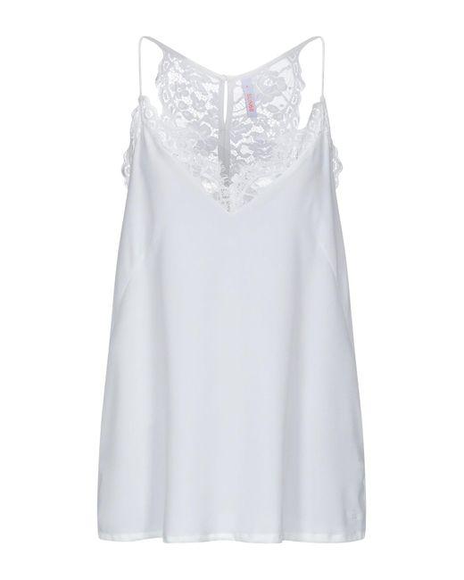 Top di Sun 68 in White