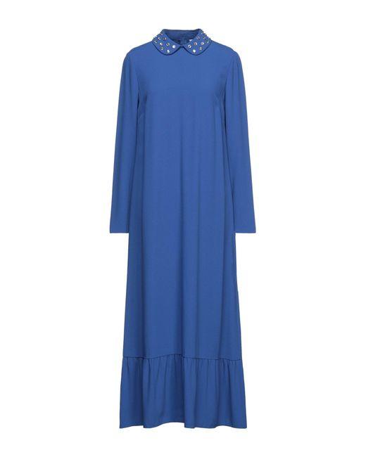 Vestido largo RED Valentino de color Blue