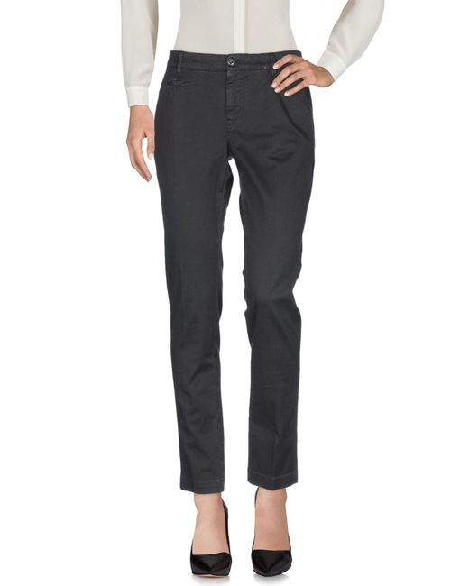 Pantalon Romano Ridolfi en coloris Black