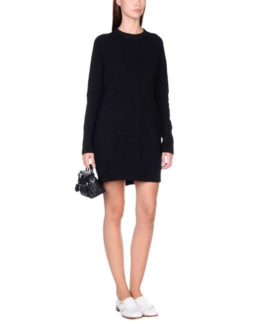 Carven Black Short Dress