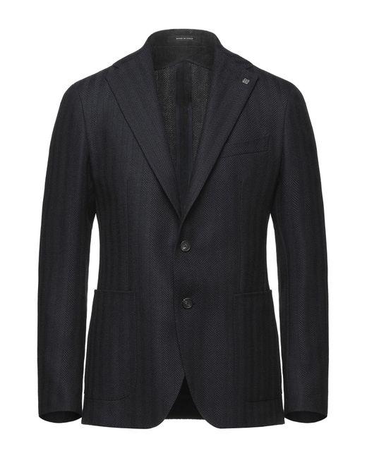 Tagliatore Blue Suit Jacket for men