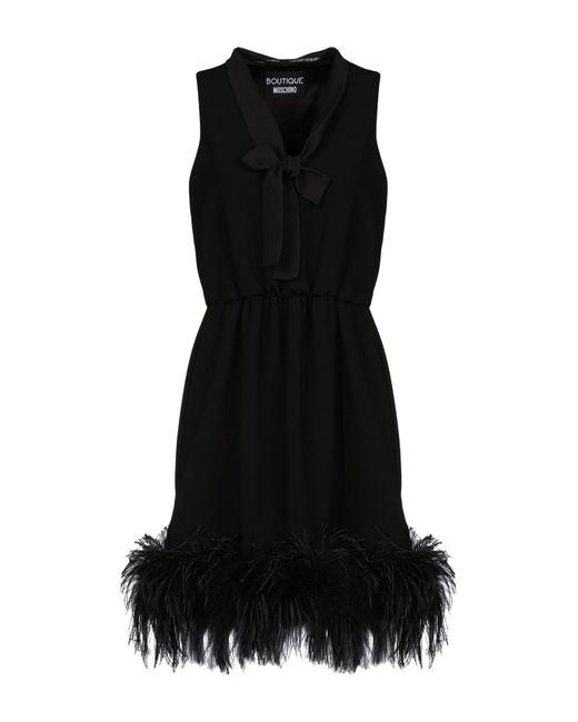 Boutique Moschino Robe courte femme de coloris noir NjOU8