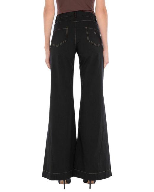Pantalone di ..,merci in Black