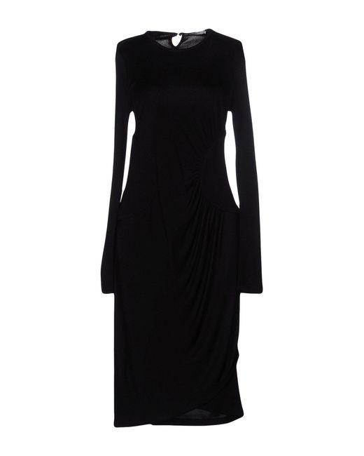 Givenchy | Black Knee-length Dress | Lyst