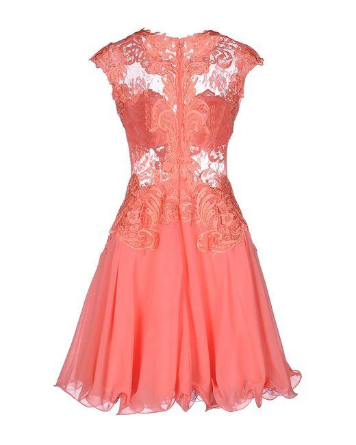 Forever Unique Pink Short Dress