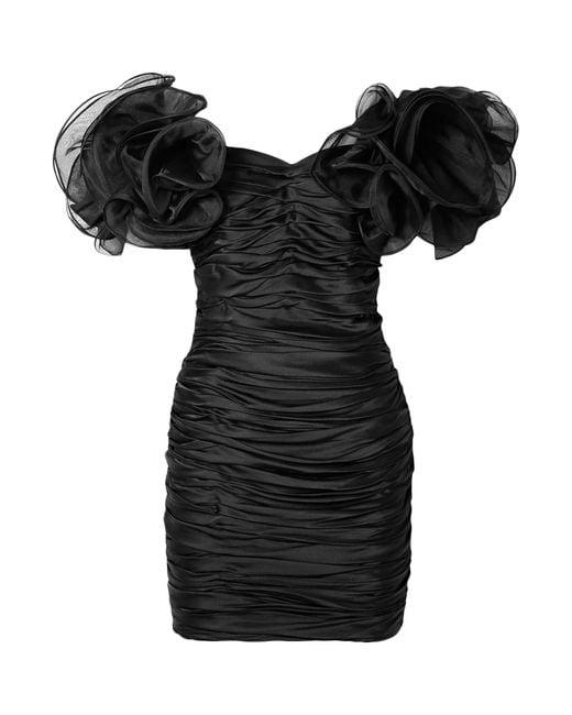 retroféte Black Kurzes Kleid