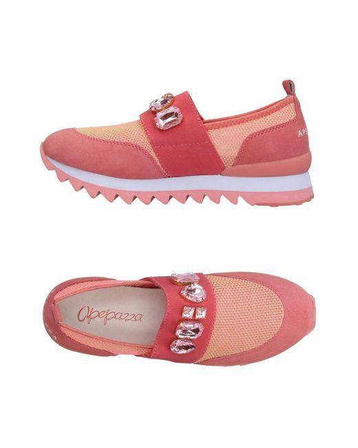 Apepazza Sneakers & Deportivas de mujer de color rosa