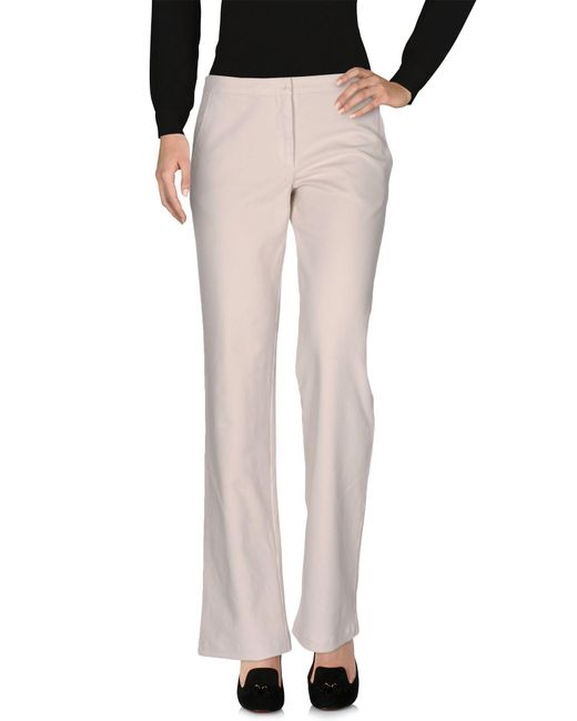 Barbara Tani | Gray Casual Pants | Lyst