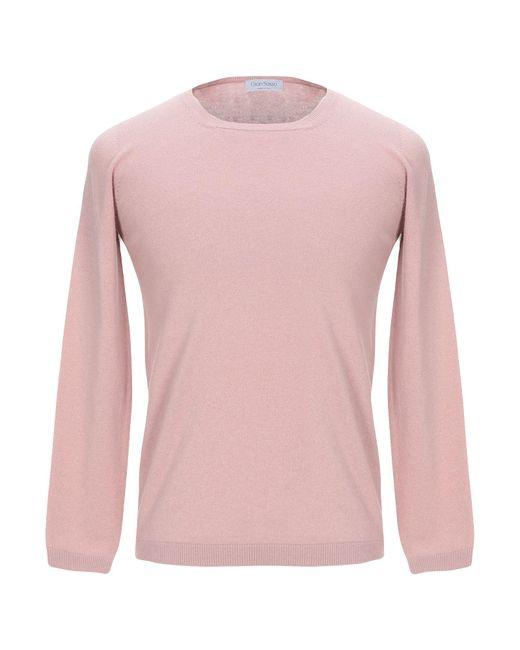 Pullover di Gran Sasso in Pink da Uomo
