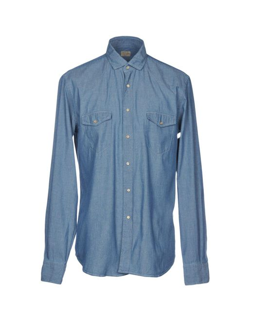 Clearance Browse DENIM - Denim shirts Xacus Outlet 2018 New Outlet Original Free Shipping Supply Outlet Low Shipping Fee XX8yveReHt