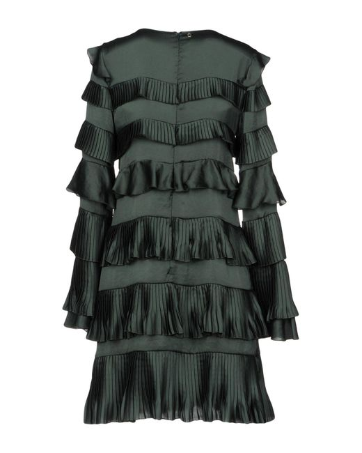 Annarita N. Green Short Dress
