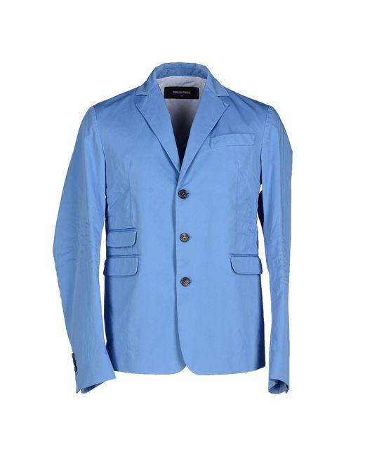DSquared² - Blue Blazer for Men - Lyst