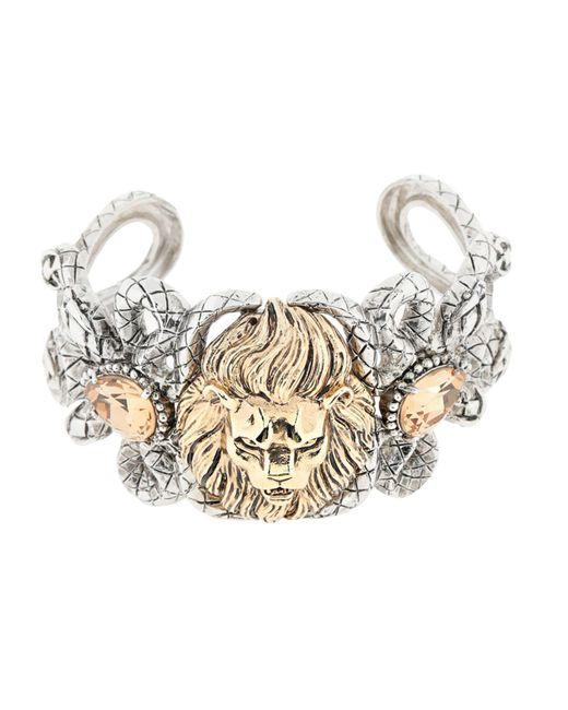 Roberto Cavalli - Metallic Bracelets - Lyst