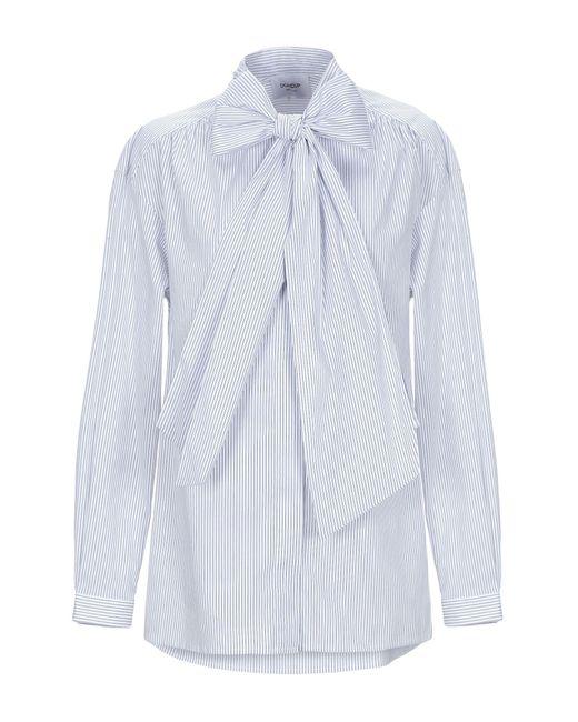 Dondup Camicia da donna di colore blu