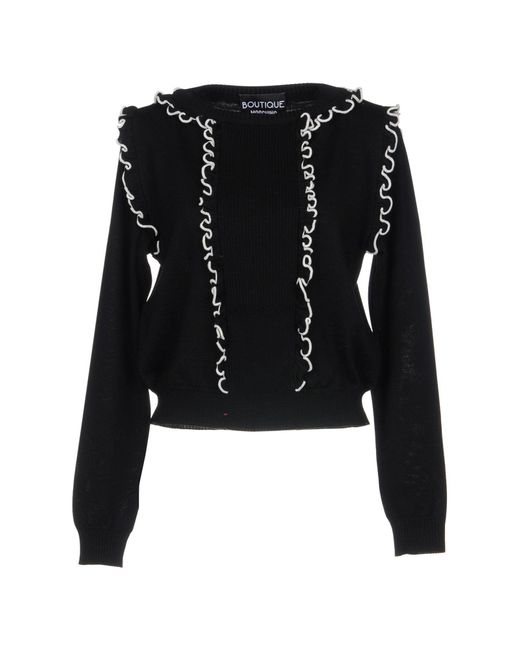Boutique Moschino - Black Sweaters - Lyst