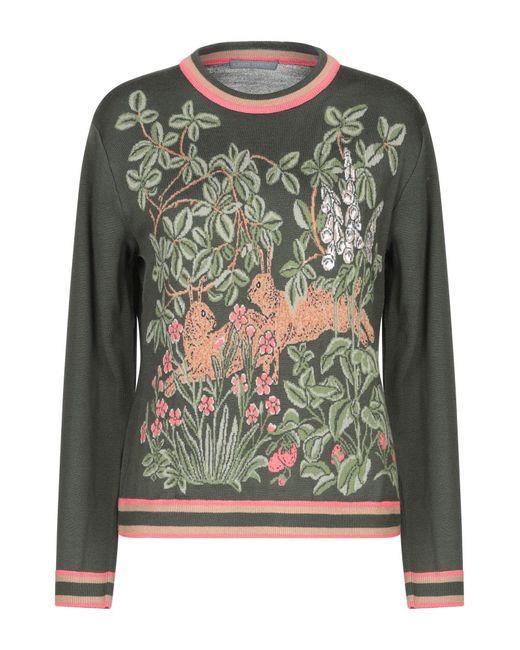 Pullover Alberta Ferretti en coloris Green
