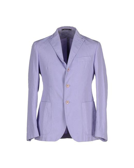 Tagliatore - Purple Blazers for Men - Lyst