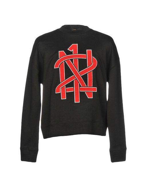 N°21 Black Sweatshirt for men