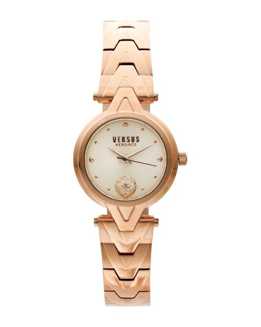 Versus  Metallic Wrist Watch