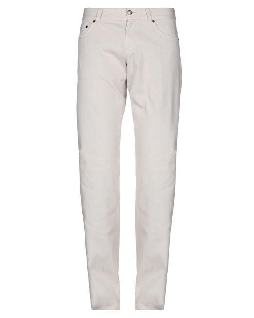 Pantalone di Les Copains in Natural da Uomo